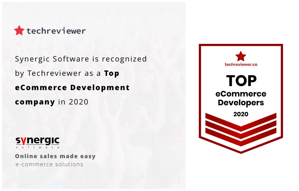 Synerigic Software - Recognized by Techviewer as Top eCommerce Develpment Company