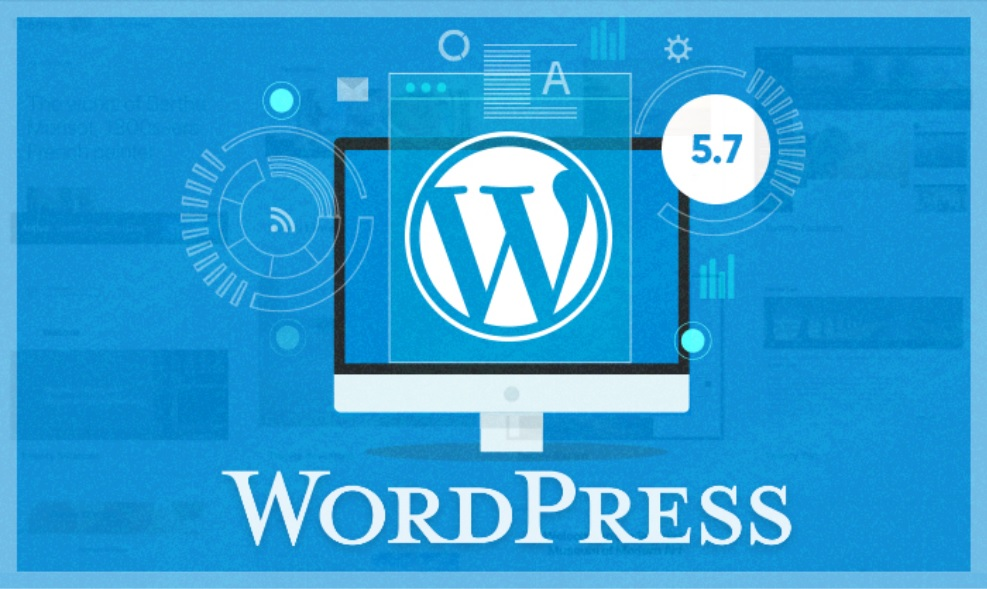wordpress 5.7 cms